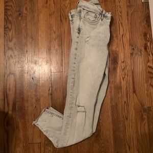 Light Grey Zara Skinny Jeans